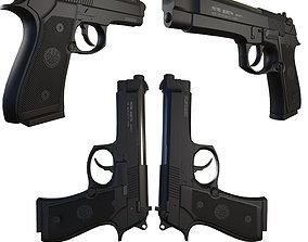 Beretta M92fs 3D model