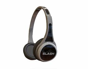 3D model Bluetooth Headphone