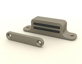 3D Magnetic door catch simple design
