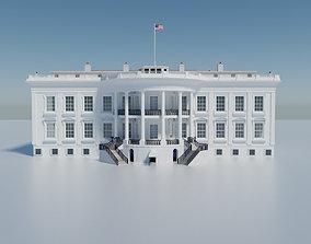 3D The White House Washington