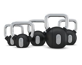 Technogym - Free Weight - Kettlebells 3D