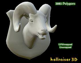 Ram Head - PBR 3D model