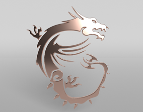 3D model MSI Dragon 06