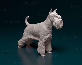 3D printable model Zwergschnauzer dog
