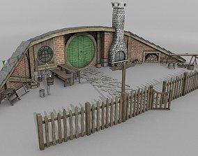 Halfling Home 5 3D model