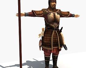 3D model Ancient Soldier