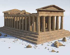 ancient 3D model Parthenon