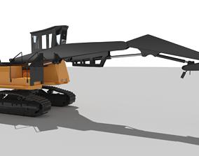 Forest Harvester 3D asset