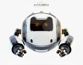 Dog walker XII 3D model