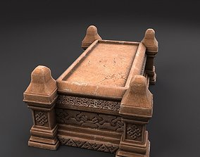 Celtic Sarcophagus 3D model