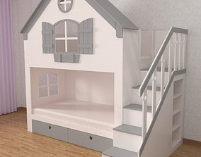 3D model Bed House