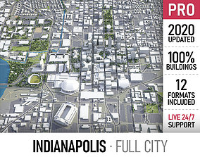 3D model Indianapolis