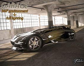 3D Garage Rendering Environment