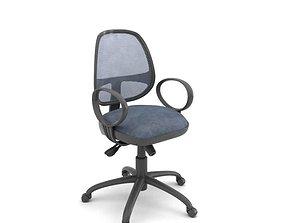 3D Adjustable Rolling Desk Chair