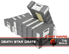 3D print model Star Wars death star crate 1-6 scale