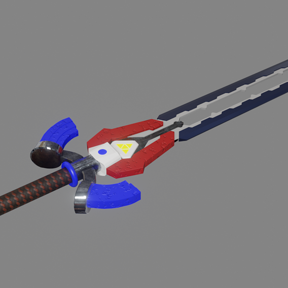 Futuristic Sword
