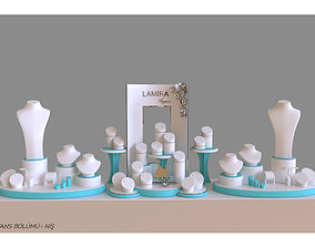 lamira jewelry display wedding concept 3D printable model