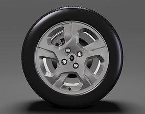 Dacia Sandero wheel 2017 3D