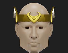 Kid Loki Crown 3D marvel