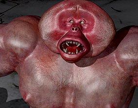 3D model Yeti monster