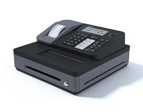 Cash Register CASIO caisse enregistreuse 3D