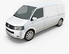 Volkswagen Transporter T5 Van 3D asset