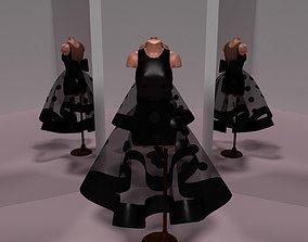 3D model Black Dots