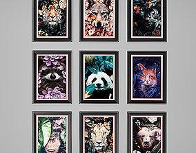 3D asset Animal Charts