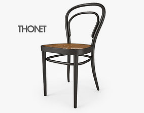 3D Thonet 214 Chair