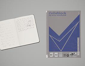 3D model Notebooks