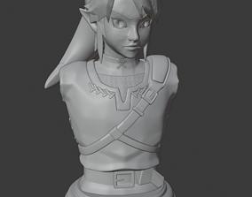 3D printable model Link bust - The Legend of Zelda - 1