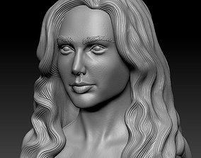 Gal Gadot 3D printable model