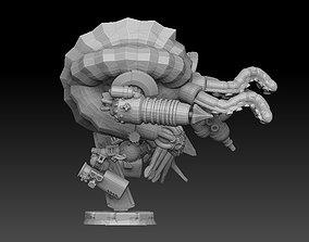 Nautiloid Horror Superheavy Carapace 3D printable model