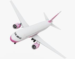 3D asset Airplane Generic
