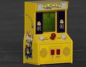 pac man arcade machine 3D model