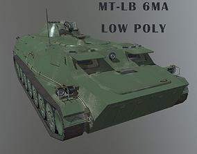 3D asset MT-LB 6MA