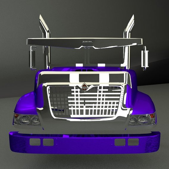 Bonnet International 3d model