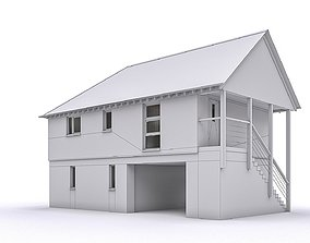 Townhouse 14 3D model low-poly