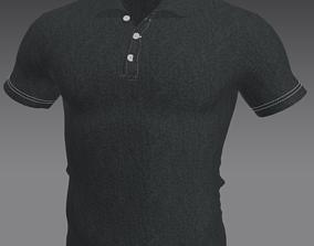 Polo T-shirt apparel 3D