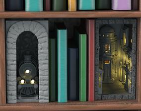 Magic Bookends 3D printable model