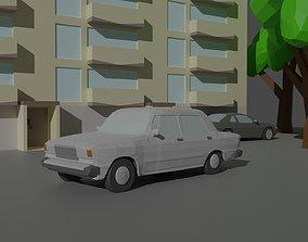 3D asset VAZ 2107 LowPoly