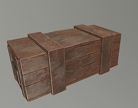 realtime Wooden Crate 1 game ready 3d model Low-poly 3D