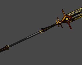 3D model Dark spear