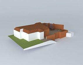 3D model area lazer backyard ewige