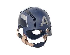 3D Captain America Helmet