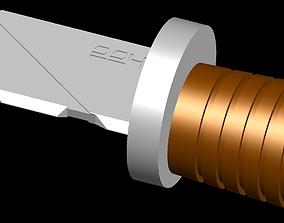 3D print model Imperial field knife