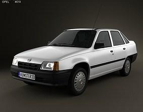 3D model Opel Kadett E Sedan 1984-1991