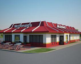 McDonalds Restaurant 03 3D