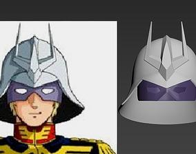 Mobile Suit Gundam 0079 Char Aznable 3D print model 2