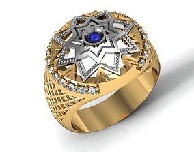 rings vector Men ring 3D print model